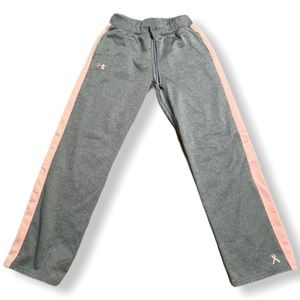 Under Armour Gray Breast Cancer Sweatpants